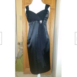 Patra Ladies Beautiful Dressy Black Dress